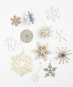 #snow #flake #decorations