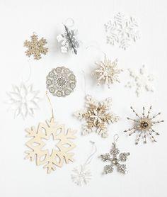 #snow #flake #decorations