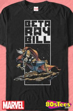 591bc42cd43 Beta Ray Bill T-Shirt Officially Licensed Marvel Comics Men s T-shirt - Big  and Tall Sizes Available