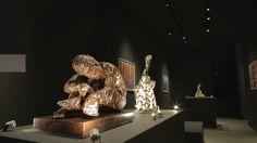 Art & Worship Area #LB16 Light+Building Frankfurt #Rabarama statues #art #light #museum