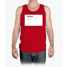 Unoffical Survive The Movie Product Bee Movie - Mens Tank Top