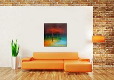 Abstract Oil Painting Seascape Abstract Art Sailboats