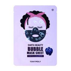 Earth beauty bubble mask sheet - Masážní a peelingová maska značky Tonymoly na Sephora.cz