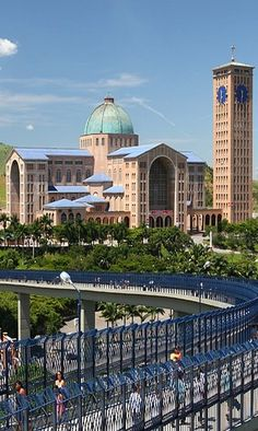Basilica of the National Shrine of Our Lady Aparecida is a prominent Roman Rite Catholic basilica located in Aparecida, Brazil.