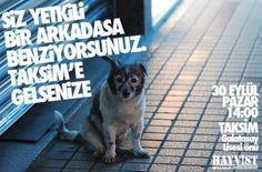Haydi Taksim'e, bugün! Bugün!