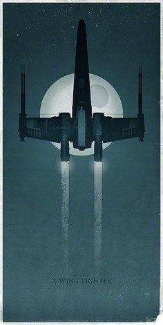 Naves Star Wars - Por Vesa Lehtimäki/Star Wars Spaceships - By Vesa Lehtimäki