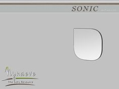 NynaeveDesign's Sonic Mirror