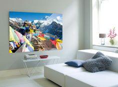 Tibet fürs Wohnzimmer: http://www.cewe-fotobuch.at/produkte/wanddekoration/ #diy #wanddeko #tibet #gebetsfahnen