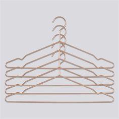 Copper Hangers - Set of 5