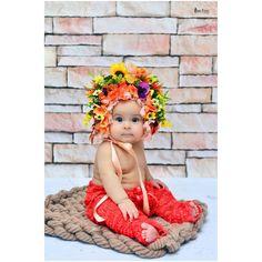 Bebek Bonesi özel çiçek tasarımıyla..