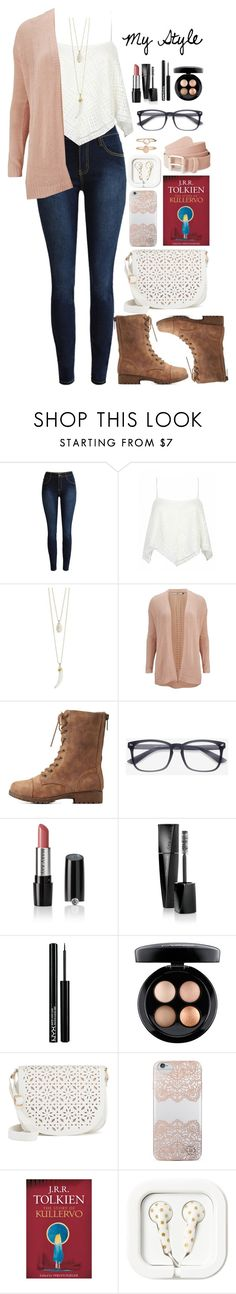 """""""My Style"""" by rachellynn-couture ❤ liked on Polyvore featuring ONLY, Bamboo, Mary Kay, NYX, MAC Cosmetics, Under One Sky, Nanette Lepore and Accessorize"""