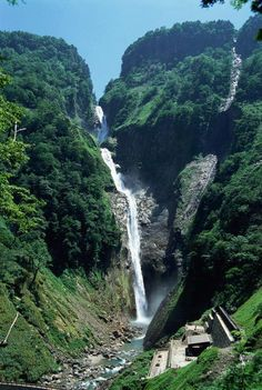 Shōmyō Falls, Toyama, Japan