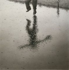 Quint Buchholz, Giacomo - Regenbild - Rain Picture - 1985, soft pencil drawing
