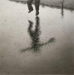 Quint Buchholz, Giacomo - Regenbild - Rain Picture - 1985, soft pencil drawing