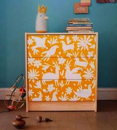 Get your creative ideas flowing with these 16 gorgeous examples of colorful dresser makeovers.