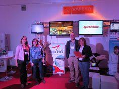 Con Flor de Top Dest acompañándonos en Expoboda 2014