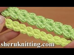 How To Crochet Puff Stitch Cord Tutorial 103. For more crochet cord video tutorials visit ... In this tutorial, you will know how to crochet puff stitch cord. This is a double sided cord. Crochet simple cord was made with crochet hook