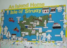 An island home classroom display photo - Photo gallery - SparkleBox . An island home c Class Displays, School Displays, Classroom Displays, Photo Displays, School Resources, Teaching Resources, Katie Morag, Seaside Art, Island Theme