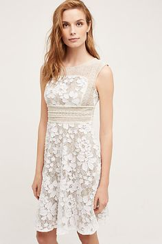 Anthropologie Europe - New In Dresses Uk, Dress Outfits, Summer Dresses, Womens Trendy Tops, Frack, Little White Dresses, Occasion Dresses, Dress To Impress, Lace Dress