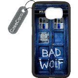 Doctor Who Tardis Bad Wolf Custom Hard Plastic & Rubber Case for Samsung Galaxy S7 Edge - Galaxy S7 Edge Case Cover CUH1178. Durable and lightweight case. This sleek case is constructed from durable plastic material. Allows access to all buttons and ports. We also accept diy design with your images. Slim and Light weight and won't fade, Scratch proof and Water proof.