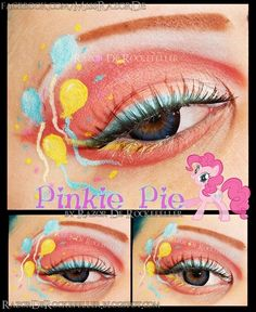 cute but wrong because Pinkie's cutie mark only has 2 blue balloons and 1 yellow.
