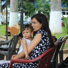 Beautiful Costa Rican mother & child