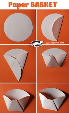 Paper BASKET You are in the right place about DIY Gifts cricut Here we offer you the most beautiful pictures … Diy And Crafts, Crafts For Kids, Arts And Crafts, Homemade Gifts, Diy Gifts, Diy Snacks, Paper Crafts Origami, Diy Gift Box, Paper Folding