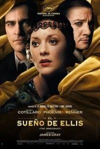 "Película: ""El Sueño de Ellis (The Immigrant) (2013)"""