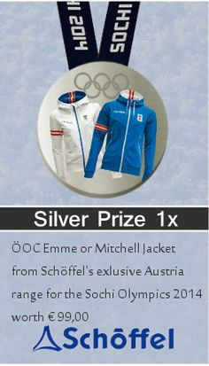 Still feel like a first place winner and better yet look like one with the OOC Emme or Mitchell Jacket from Schoffels exclusive Austria range, you will looking sharp and ready just like the professionals! Olympia, Austria, Skiing, Range, Feelings, Jacket, Games, Ski, Stove