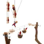 Rustic Wooden Tree Fort Super Saver | Wooden Toys
