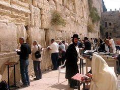El muro de las lamentaciones, Israel.