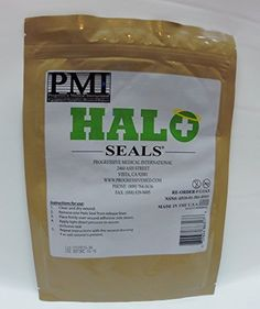 HALO Chest Seal - High Performance Occlusive Dressing For Trauma Wounds (Pack of 2 Made in USA) Progressive Medical