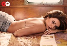 Selena Gomez Poses Topless for GQ and Doesn't ''Give a F--k'' About Her Abnormal Childhood  Selena Gomez, GQ Magazine
