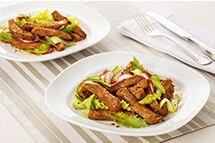 Salada morna de filé de costela por Academia da carne Friboi