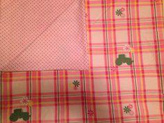 Large Baby Receiving Blanket, Big Green Tractor, John Deer, Pink, Green, Flowers, Plaid, Baby Swaddle Blanket, Baby Shower Gift on Etsy, $18.50