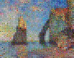 The Granny Square--fabulous artwork in a granny