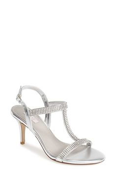Glint 'Grace' T-Strap Sandal (Women) available at #Nordstrom