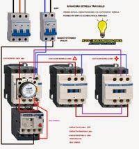 Esquemas eléctricos: ESQUEMA ESTRELLA TRIANGULO DE MANIOBRA