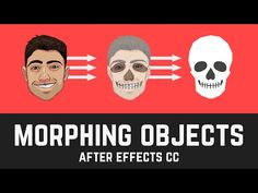 T007 How to Morph PNG Objects in After Effects CC (PNG, none shape layers) - YouTube