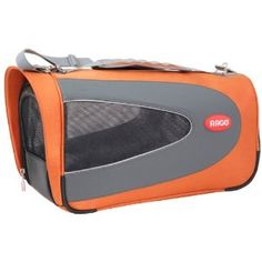 "Teafco Argo Medium Petascope Carrier. In 3 sizes, in orange, pink, lime, teal. The medium measnures 23"" long x 11.5"" wide x 11.5"" high, and fits pets up to 22 lbs. NOT for airline travel.... $125 on Amazon ... July 2012"