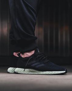 Adidas Futurecraft 4D. 3D printed soles with primeknit upper sneakers. Sneakerheads, sneaker society, kick nation, kick society