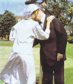 July 12, 1983: Princess Diana greeting her father, the Earl of Althorp when he accompanied her at the opening of a new Psychiatric Unit, named after the Spencer family, at St Andrews Hospital, Northampton.