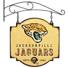 Jacksonville Jaguars Logo, Sports Wall, Sports Logo, Pub Signs, Showcase Design, Hanging Signs, Home Decor Wall Art, Sign Design