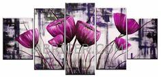 flores-cuadros-campanillas-rosas-fucsias-modernos.jpg 816×393 píxeles#cuadros#modernos#abstracto#pintura#arte#decoración#color#árbol#vida#flores