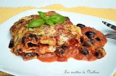 Ma cuisine au fil de mes idées...: Lasagne à la feta et aux olives noires, parfumée aux herbes grecques
