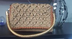 Amazing handmade crochet bag Handmade Bags, Monogram, Michael Kors, Crochet, Amazing, Pattern, Handmade Handbags, Patterns, Monograms