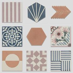 Encaustic cement tiles give us tremendous options in terms of shapes, patterns, colours and laying styles. You can use different shaped and patterned tiles simultaneously. Whether you create harmony or well-organised chaos the encaustic cement tiles are an integral part of your creativity! Let's take a look at to get inspired.