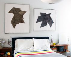 Manhattan Nest - Daniel's grandparents' lithographs look terrific. I'm also into what he did with his and Max's bedroom in general. He can do no wrong!
