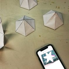 Making a Hexagonal shape out of paper, and animating it in Students, College, Animation, Shapes, Building, Cards, How To Make, University, Buildings