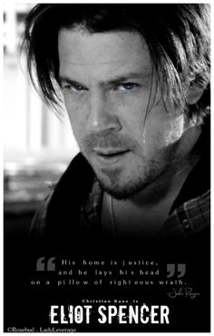 Eliot Spencer / Christian Kane made by ladee leverage